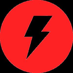 Icone de raio da RST Painéis Elétricos