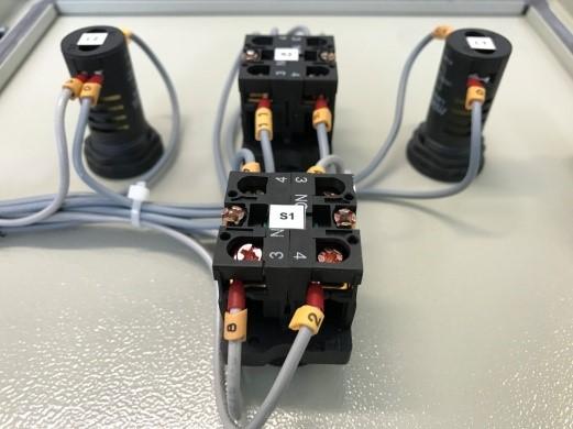 Conexão elétrica de quadro QBR